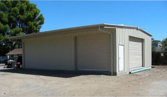 Metal Garages barns horse stalls steel construction California
